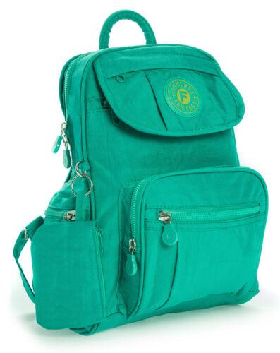 NUOVO Mini Tessuto Leggero Zaino Zaino Scuola Lavoro Palestra Viaggio Vacanze Bag