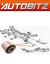 Accoppiamenti HYUNDAI ix35 2009 /> SOSPENSIONE POSTERIORE TRACK CONTROL ARM bushs x2 SPEDIZIONE VELOCE