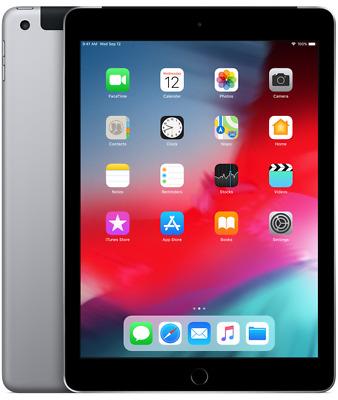 R-D Space Gray 4G AT/&T Unlocked Apple iPad Air 1st Gen 16GB 9.7in Wi-Fi