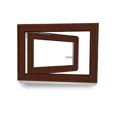 verschiedene Ma/ße wei/ß BxH: 70x40 cm Kunststoff Kellerfenster Sicherheitsbeschlag DIN links Fenster