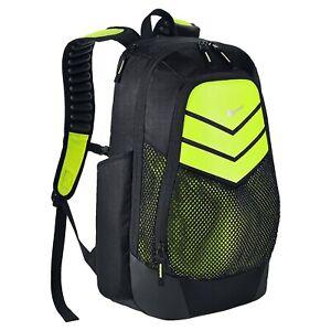 Nike-Power-Energy-Vapor-Black-Grey-Max-Air-Straps-Laptop-Backpack-Bag-BA5246-010
