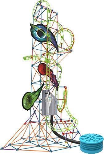 K 'NEX thrill rides Lunar Launch Roller Coaster Coaster Coaster Building Set pour 9 ans 507ab0