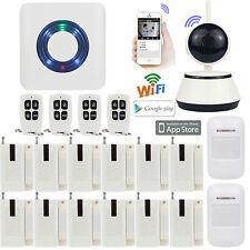 B47 WiFi APP Internet Wireless Home Security Burglar Alarm System+720P IP Camera