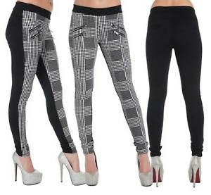 62d9b47362 Image is loading New-Women-Print-Pattern-Leggings-Ladies-Long-Stretchy-