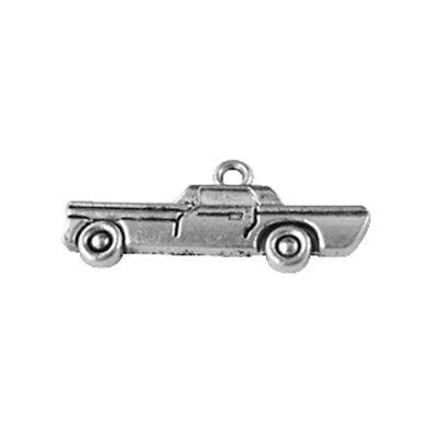 50 pcs tibetan silver car charm A11646