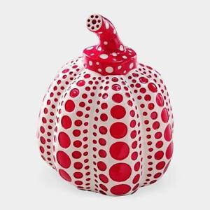 MoMA Yayoi Kusama Pumpkin Red Objet Object Art work from Japan