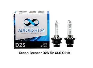 2 x Xenon Brenner D2S für Mercedes CLS C219 Lampen Birnen E-Zulassung