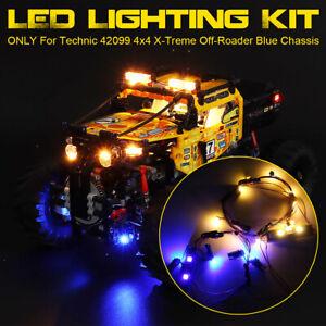 LED Licht Beleuchtung Set Für LEGO 42099 4x4 Für X-Treme Off-Roader Blau Light