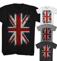 ★T-shirt Union Jack Flagge Vintage Rock Punk UK England Neu S-5XL UJF0515★
