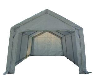 Birchtree Garage Carport Shelter Car Port Canopy 3m X 6m Galvanised Frame White 5055418301213 Ebay