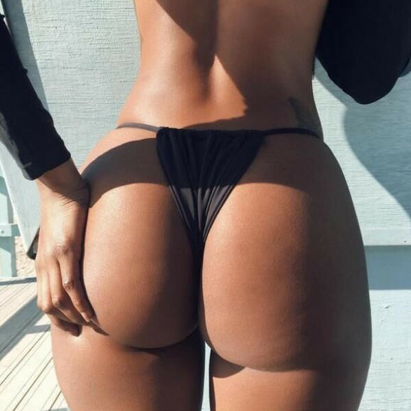 Damen Sommer Brazilian G-String Slip Bikini Tanga Brasil String Bikinihose Pants