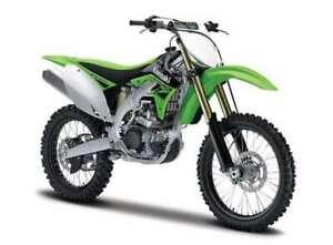 Bburago-1-18-Kawasaki-KX450F-MOTORCYCLE-BIKE-DIECAST-MODEL-NEW-IN-BOX