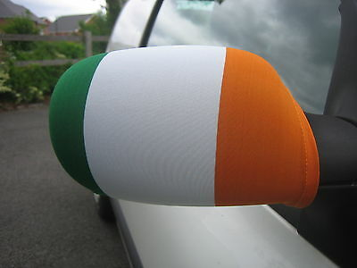 21Fashion Irish Ireland Republic Day Wing Mirror Covers St Patrick Day Car Mirror Covers One Size