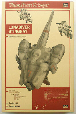 Hasegawa MK03 Ma.K. LUNADIVER STINGRAY MASCHINEN KRIEGER 1/35 scale kit