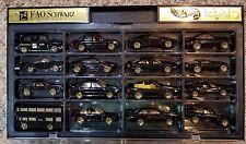 Hot Wheels FAO SCHWARZ Gold Series III Complete Set - Mustang Cobra , Ferrari