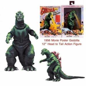 Godzilla-Godzilla-Film-Affiche-1956-12-inch-Tete-pour-Queue-Neca-Figurine