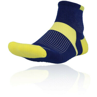 Mizuno Homme Active Training Gym Fitness Mi Chaussettes Bleu Sport Running Respirant