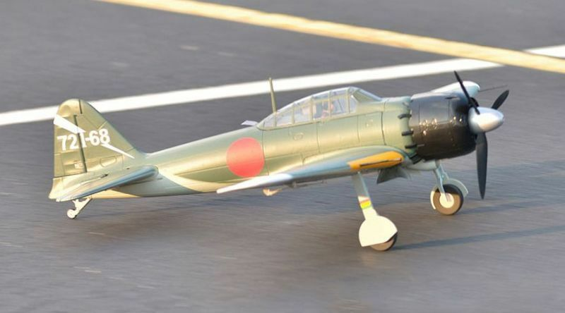 Zero A6M5, Plug N Play, Wingspan  43.3 in (1100mm)  Brushless RC Airplane  perfezionare