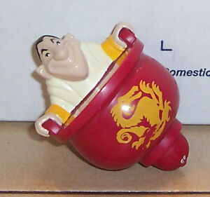 1998 Disney/'s Mulan McDonalds Happy Meal Toy Spinning Top Ling #1