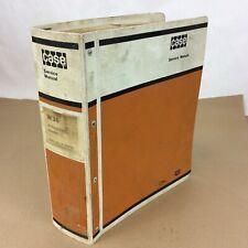 Original Case W36 Articulated Loader Excavator Service Repair Shop Manual