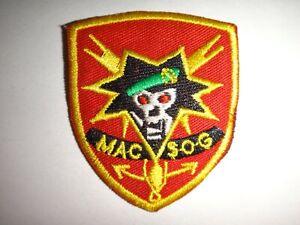 Guerra-Vietnam-Boina-Parche-Eeuu-5th-Fuerzas-Especiales-Grupo-Macv-Sog-Equipo