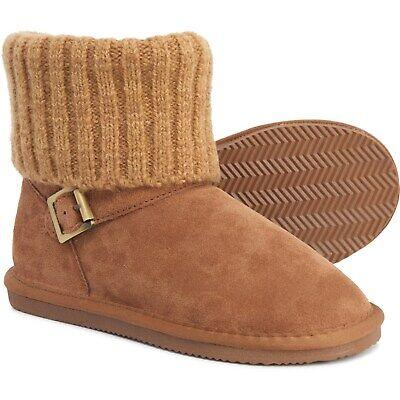 LAMO Footwear Hurry Zip Shearling Suede