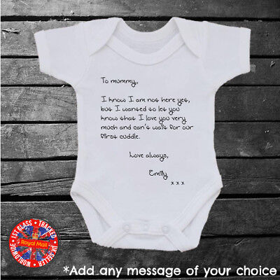 First fathers day New mum mothers day gift Personalised new best friend baby vest Personalised new best friend baby bodysuit