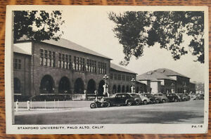 EARLY-1900s-STANFORD-UNIVERSITY-PALO-ALTO-CALIFORNIA-PHOTO-POSTCARD-SCHOOL