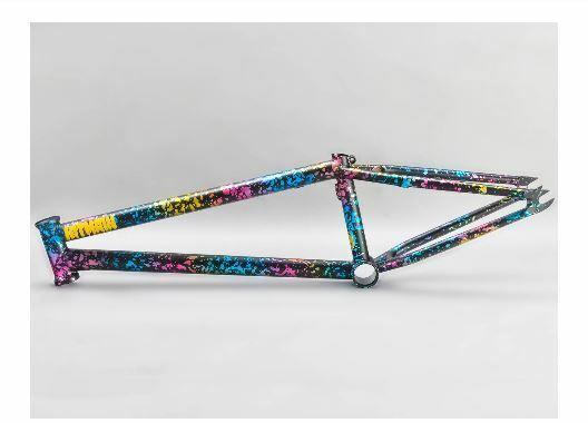 MAFIABIKES BMX hitmain 20.8 FRAME 4130 qualità Sanko Cromoly SPLATTER F Japanese
