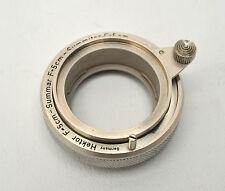 Leica Nickel ZWTOO HESUM for Hektor 5cm, Summar 5cm & Summitar 5cm VERY NICE