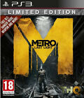 Metro Last Light Limited Edition PlayStation 3 Ps3 Game PAL Complete
