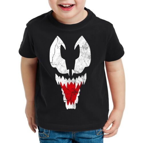 Eddie Brock Kinder T-Shirt spider superheld schurke spinne man sheldon big bang