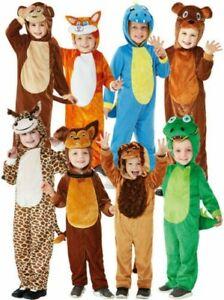 Deluxe TIGER Adulti Costume Animale Gatto Selvatico Libro Giorno Costume Da Uomo Donna Nuovo