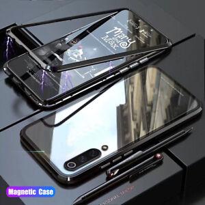 Per-Xiaomi-Mi-9-Lite-9T-9-360-VETRO-TEMPERATO-adsorbimento-Magnetico-Cover-Custodia-PC