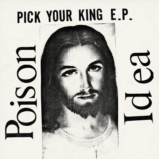 Poison Idea Wählen Sie Ihren König Clear Vinyl LP Record mit Bonus Sticker & INSERT NEU