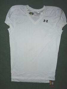 UNDER-ARMOUR-mens-Football-Practice-Jersey-New-size-LARGE-white-heatgear-shirt