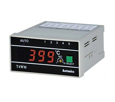 New Multi Channel//Point Temperature Measurement Indicator T4WM-N3NP0C RTD Pt100