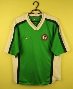 on sale 43f52 b51fa Nigeria team jersey shirt 1998/2000 Home official nike ...