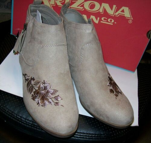 WOMENS ARIZONA GILMORE ANKLE BOOTS MULTIPLE SIZES NEW IN BOX MSRP$59.00