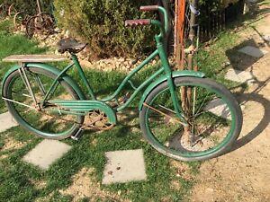 Vtg Girls  1930s Shelby Flyer Bicycle Skip Tooth Sprocket, Garden Art