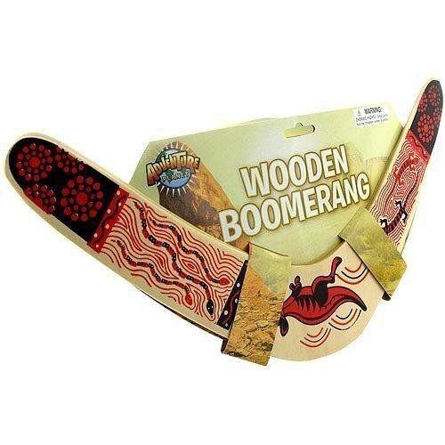 Rhode Island Novelty Wooden Boomerang Colors May Vary