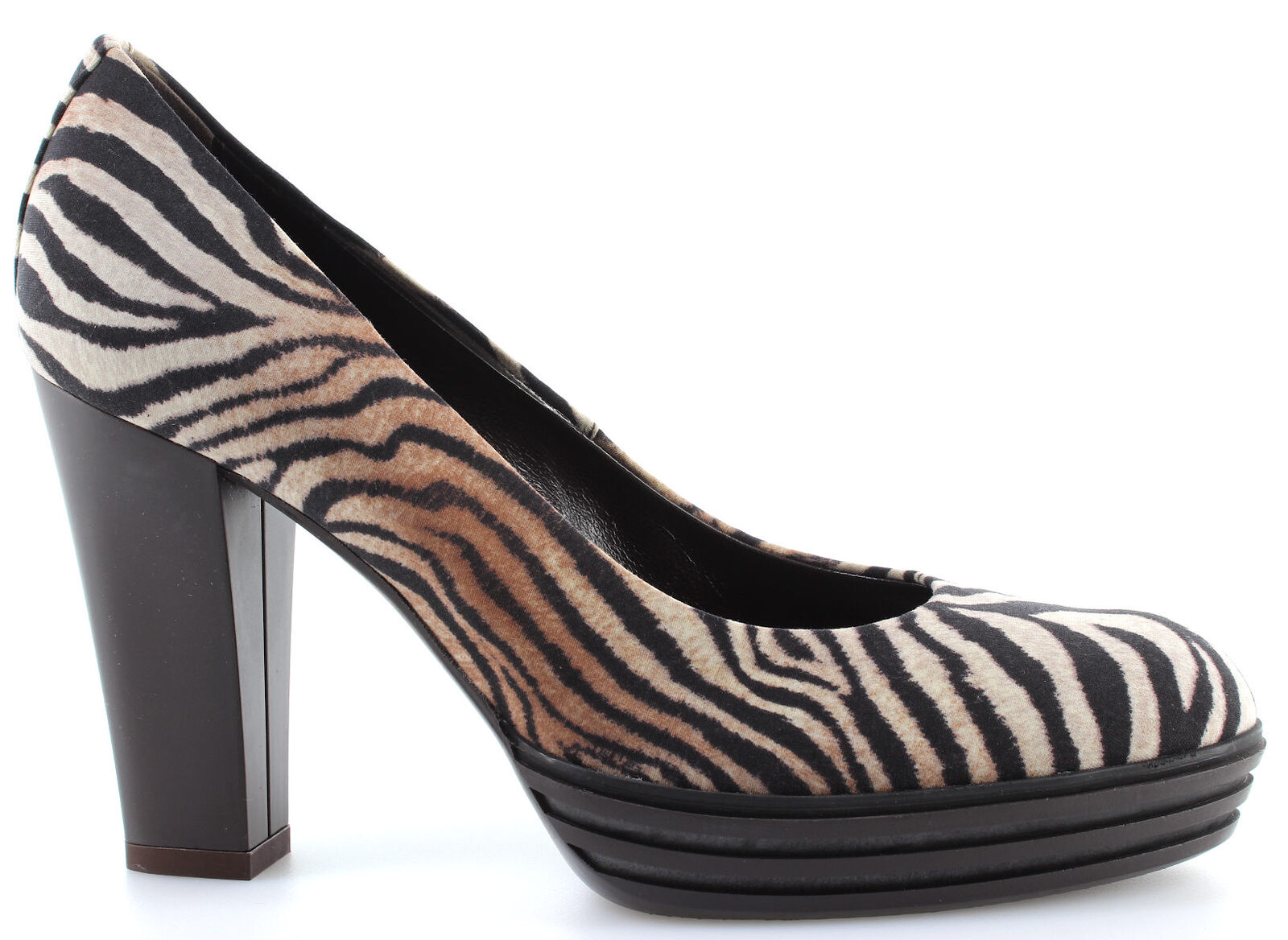 shoes Escarpins women HOGAN Opty Decollette Liscio Zebrine Made  Luxe