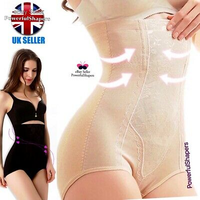 Ladies Plus Size UK 6-22 Extra Firm Control Shapewear Briefs Knickers Panty  UK