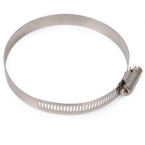 17mm to 25mm Hi-Grip Worm Drive Hose Jubilee Clips JCS Stainless Steel
