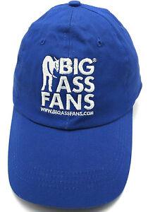 BIG-ASS-FANS-blue-fitted-cap-hat-Size-M-L