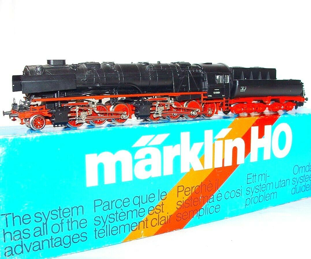 Marklin AC HO 1 87 German Big Boy DR BR-53  BORSIG  MALLET STEAM LOCOMOTIVE MIB