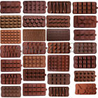 20 Shapes Silicone Cake Decorating Moulds Candy Cookies Chocolate Baking Mold