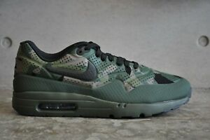 0f288662c7 Nike Air Max 1 Ultra Moire Camo Print - Carbon Green/Black | eBay