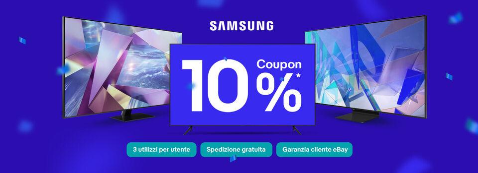 Scopri il codice - Euro Coupon 10% fino a 50€ sul mondo Samsung