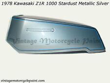 KAWASAKI PAINT 1978 Z1R 1000 STARDUST METALLIC SILVER RESTORATION PAINT BEST